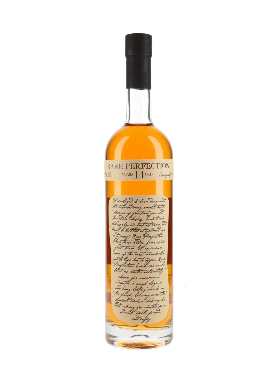 Rare Perfection 14 Year Old Overproof Lot #3  75cl / 50.35%