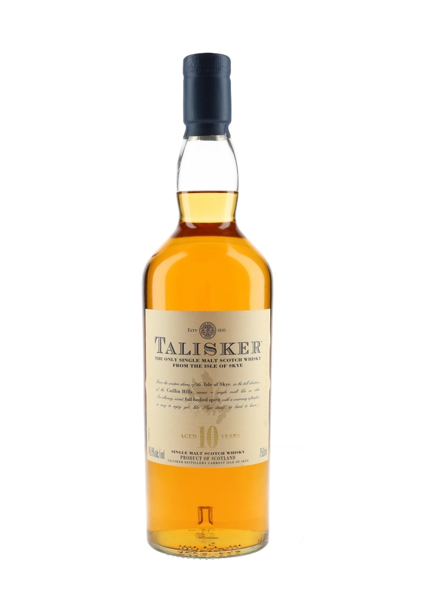 Talisker 10 Year Old Bottled 2000s - Diageo North America 75cl / 45.8%