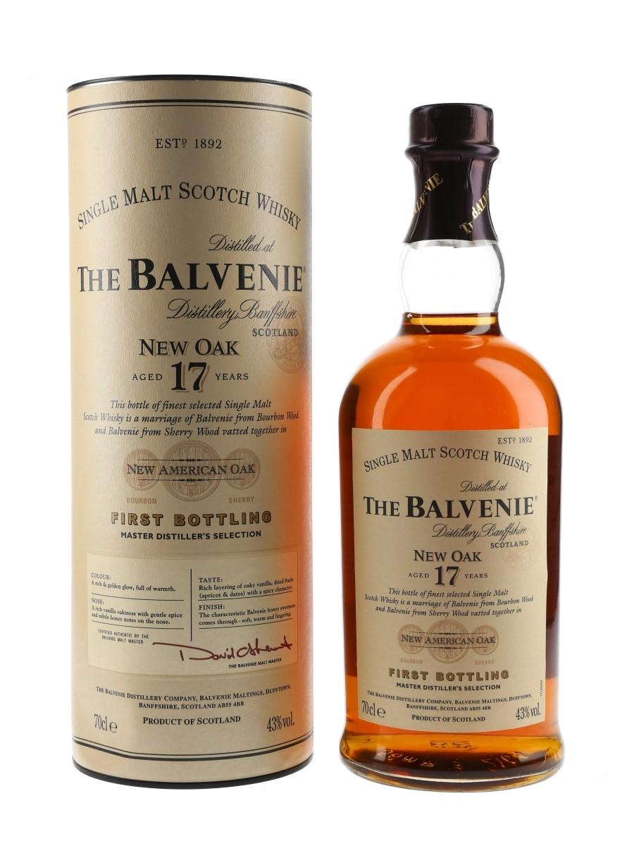 Balvenie 17 Year Old New Oak First Bottling Bottled 2007 70cl / 43%