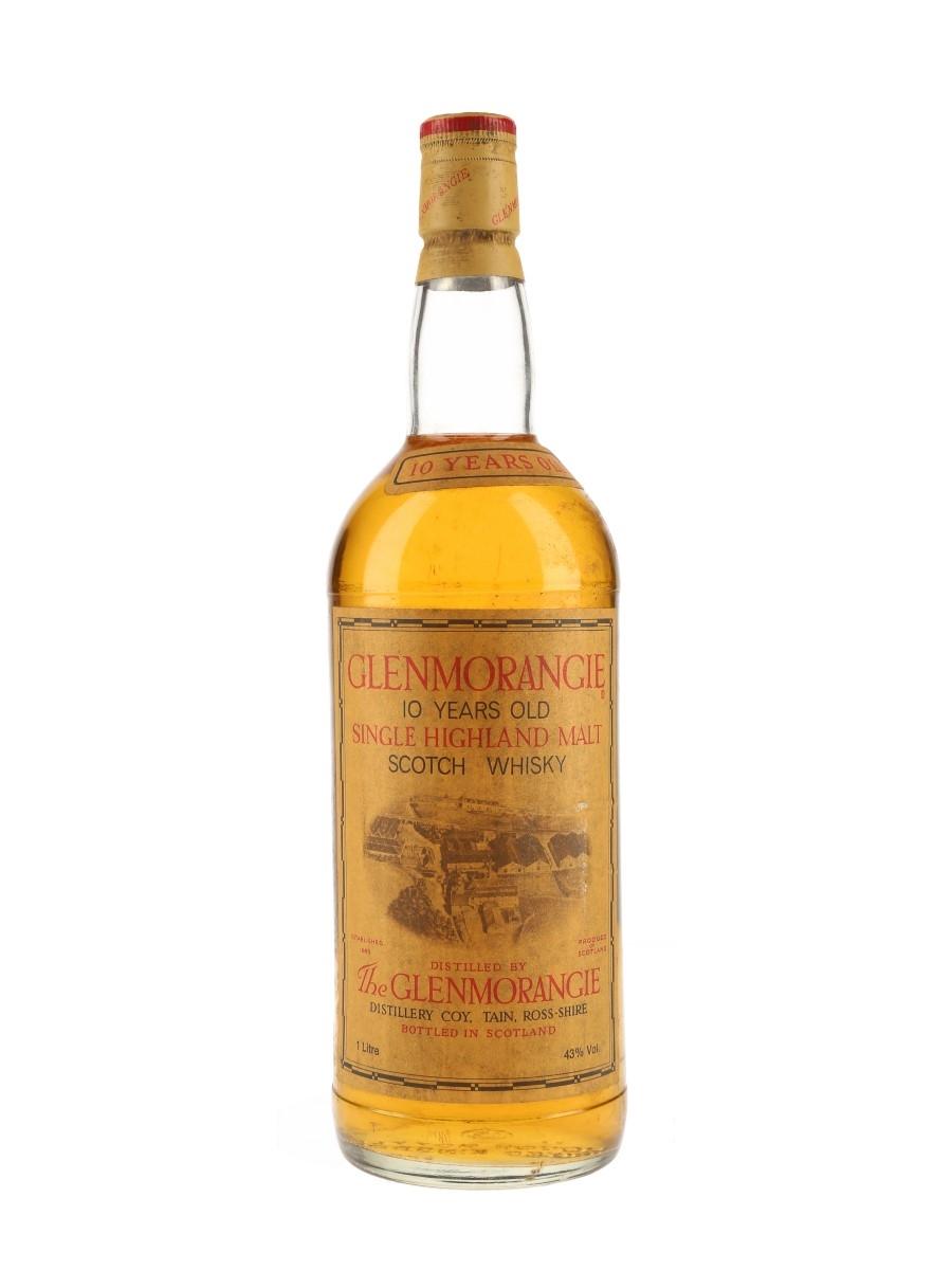 Glenmorangie 10 Year Old Bottled 1980s 100cl / 43%