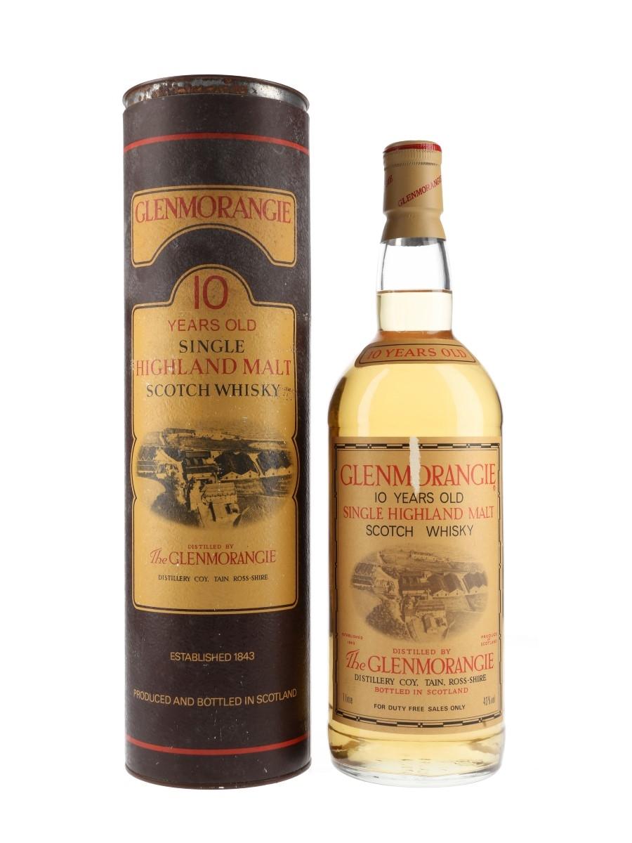 Glenmorangie 10 Year Old Bottled 1990s - Duty Free 100cl / 43%