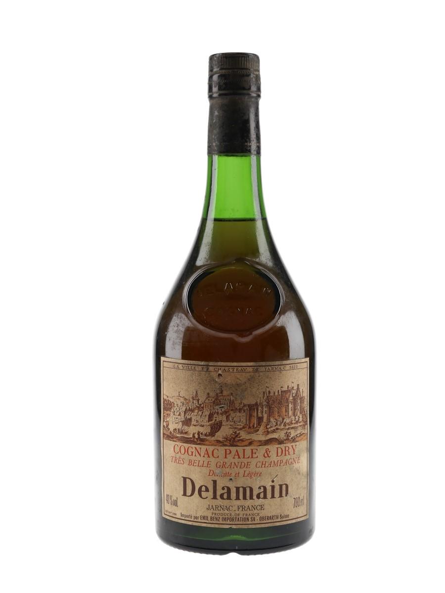 Delamain Pale & Dry Cognac Bottled 1990s - Emil Benz Importation 70cl / 40%