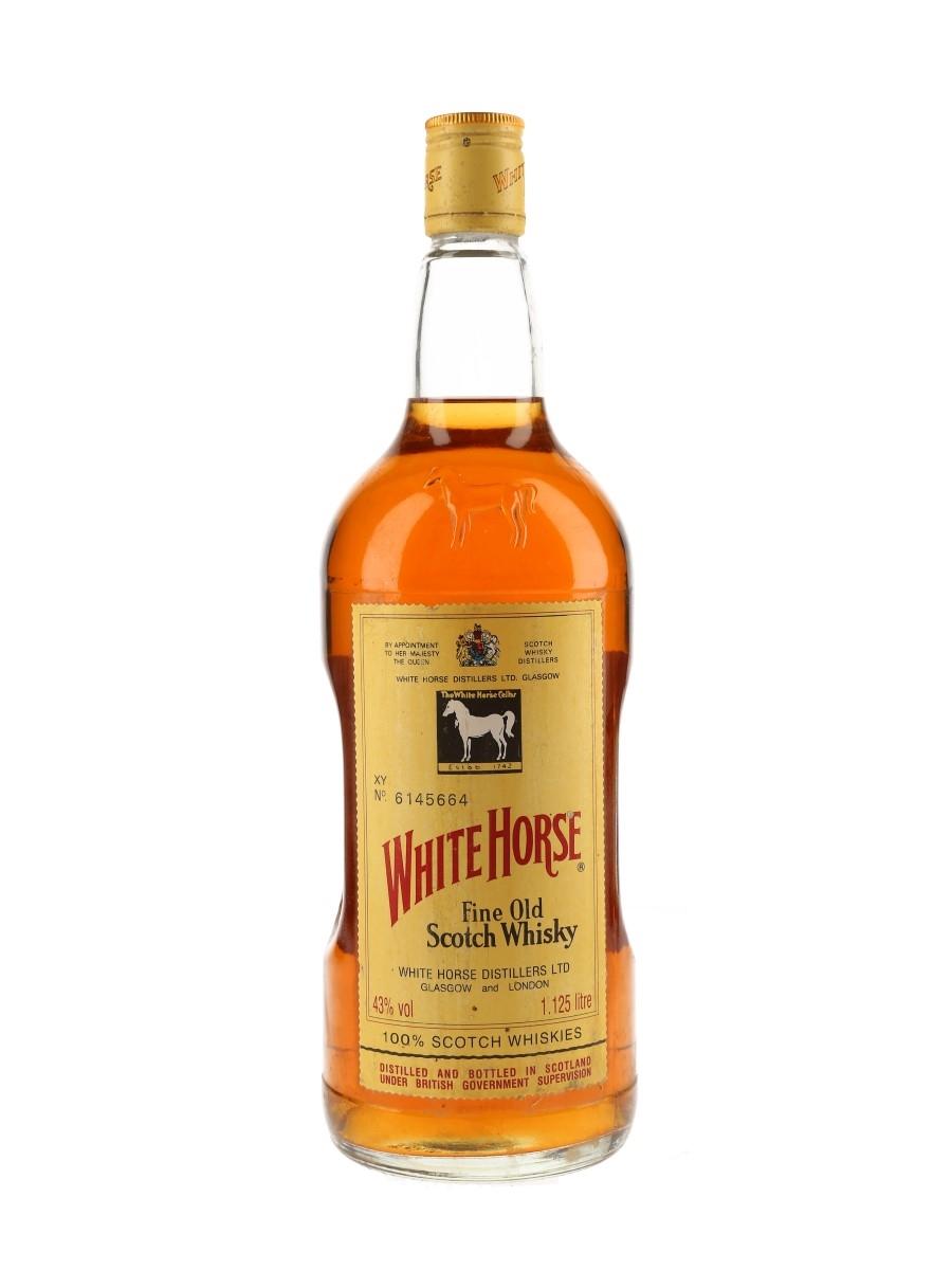 White Horse Bottled 1980s-1990s 112.5cl / 43%