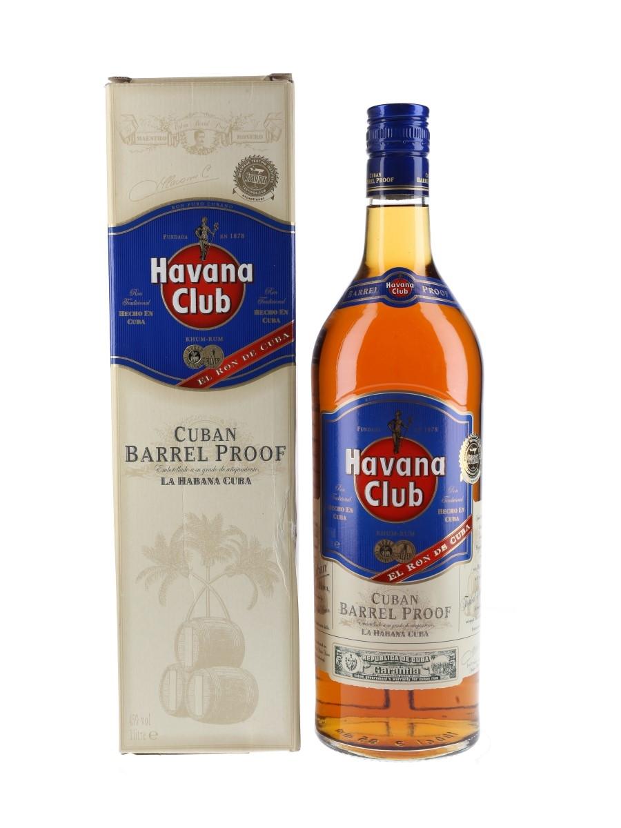 Havana Club Cuban Barrel Proof  100cl / 45%