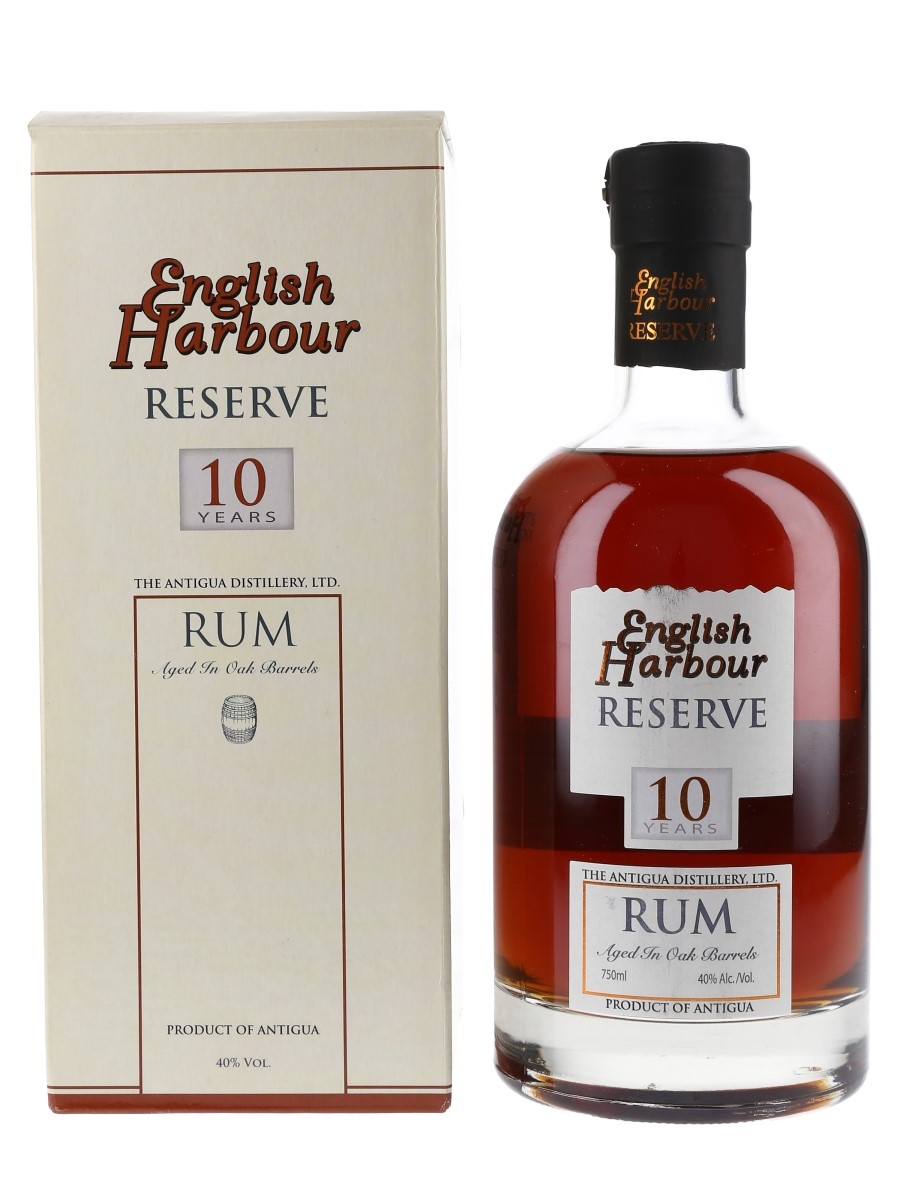 English Harbour Reserve 10 Year Old The Antigua Distillery Ltd. 75cl / 40%