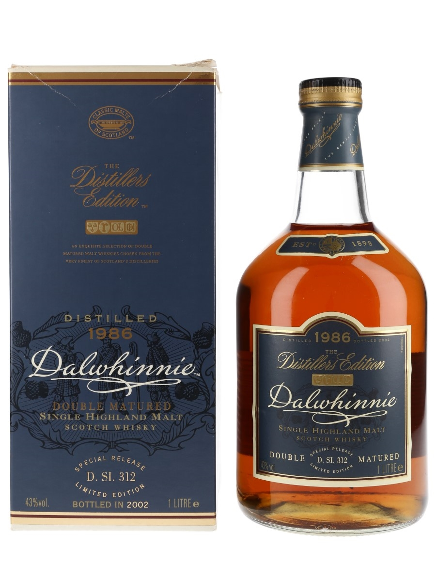 Dalwhinnie 1986 Distillers Edition Bottled 2002 100cl / 43%