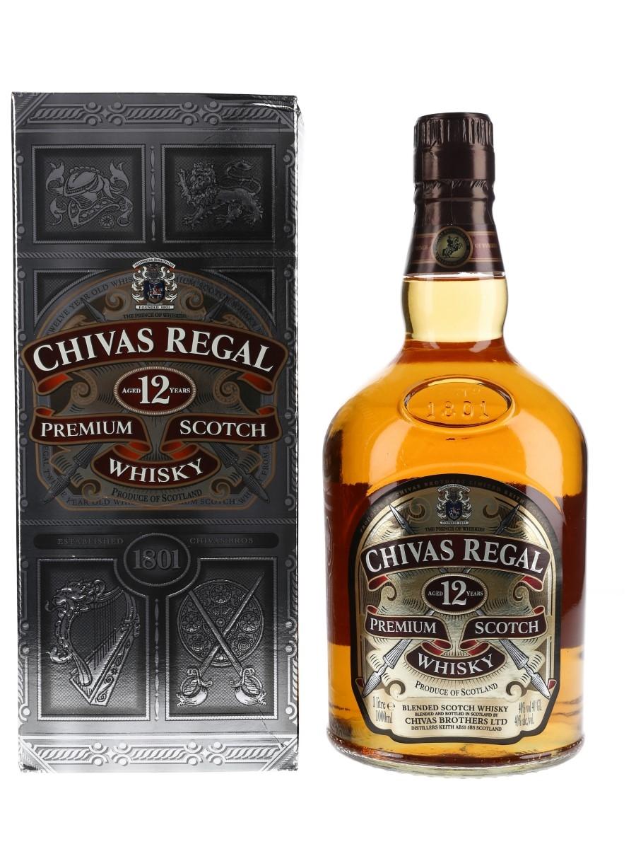 Chivas Regal 12 Year Old Bottled 2008 100cl / 40%