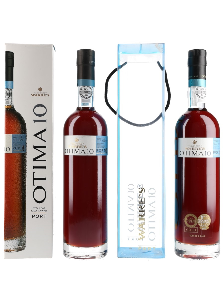 Warre's Otima 10 Year Old Tawny Bottled 2010 2 x 50cl / 20%