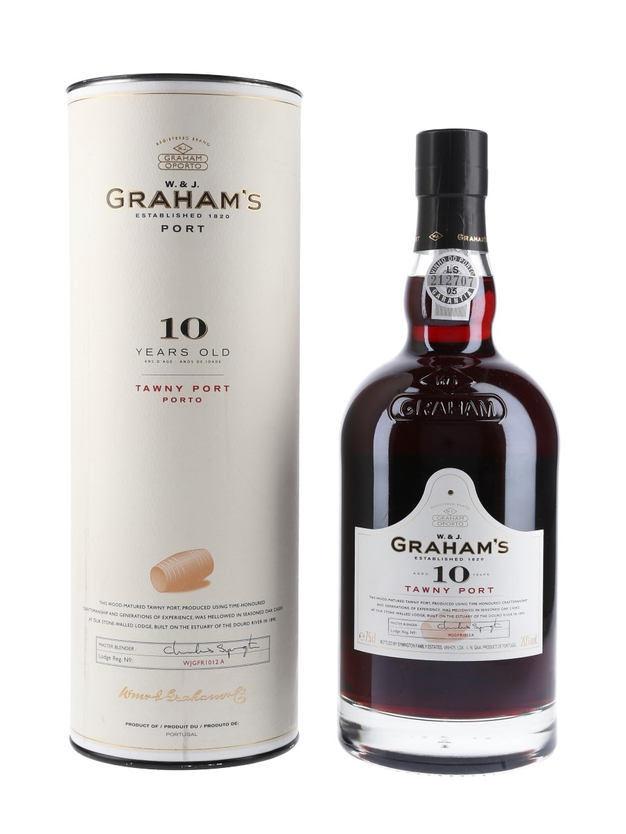 Graham's Tawny Port 10 Year Old  75cl / 20%