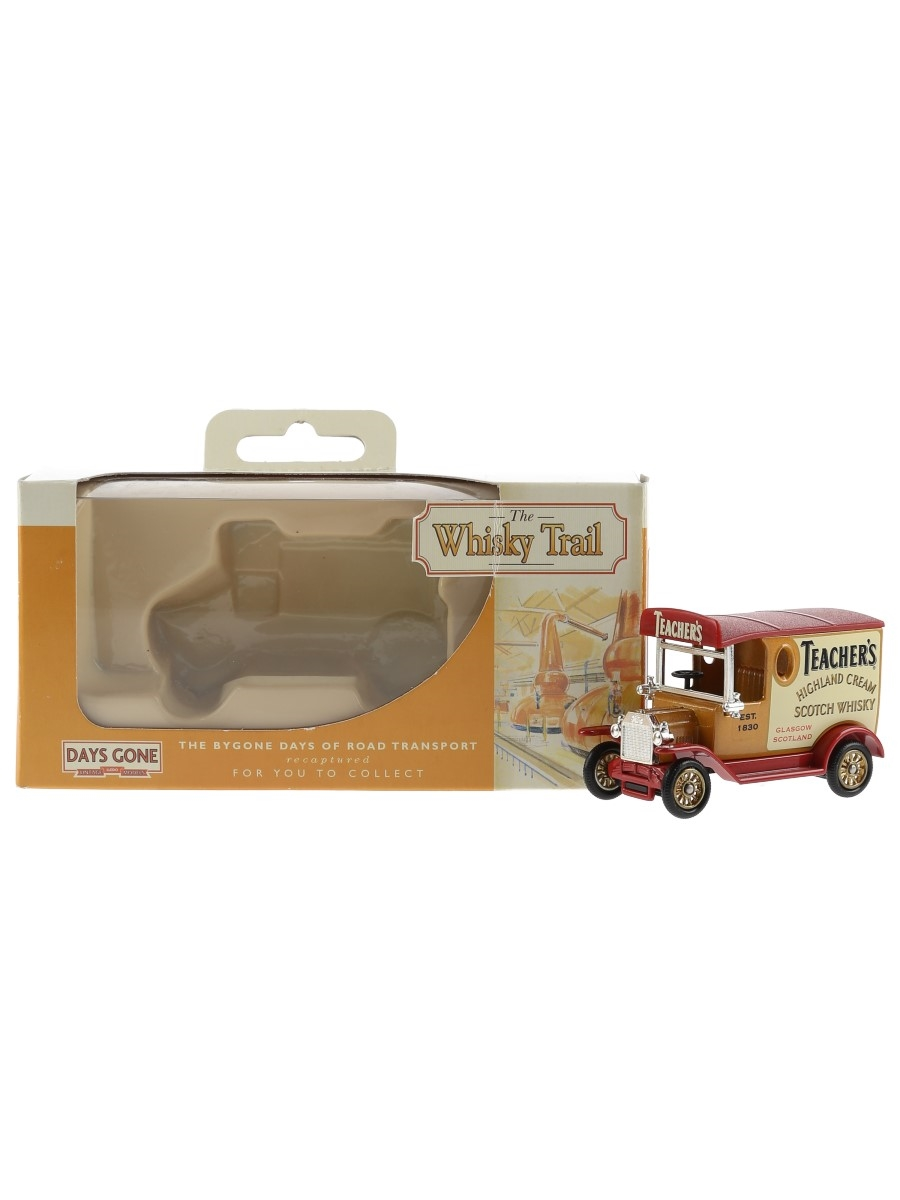 Teacher's Model T Ford Van Lledo Collectibles - The Bygone Days Of Road Transport 7cm x 5cm x 3.5cm