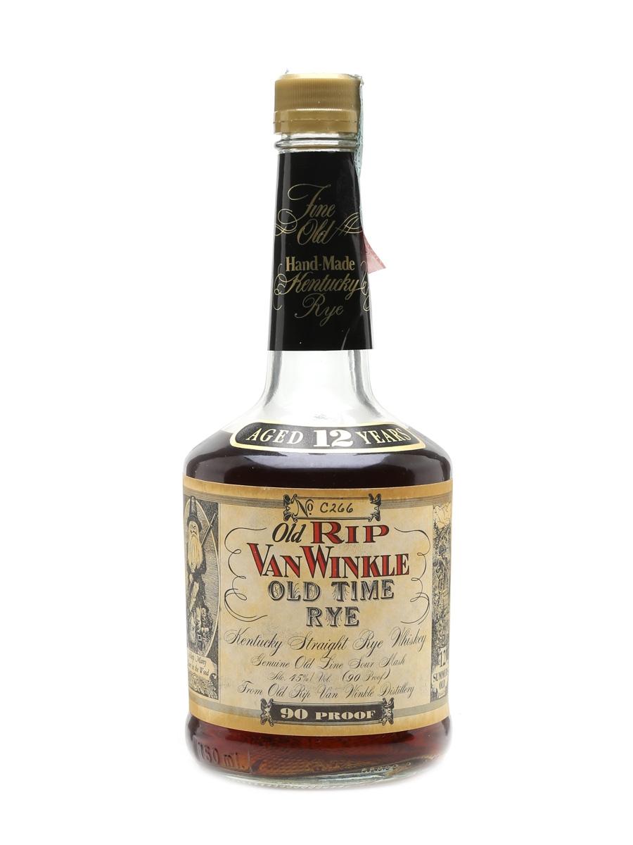 Old Rip Van Winkle Old Time Rye 12 Year Old 70cl / 45%