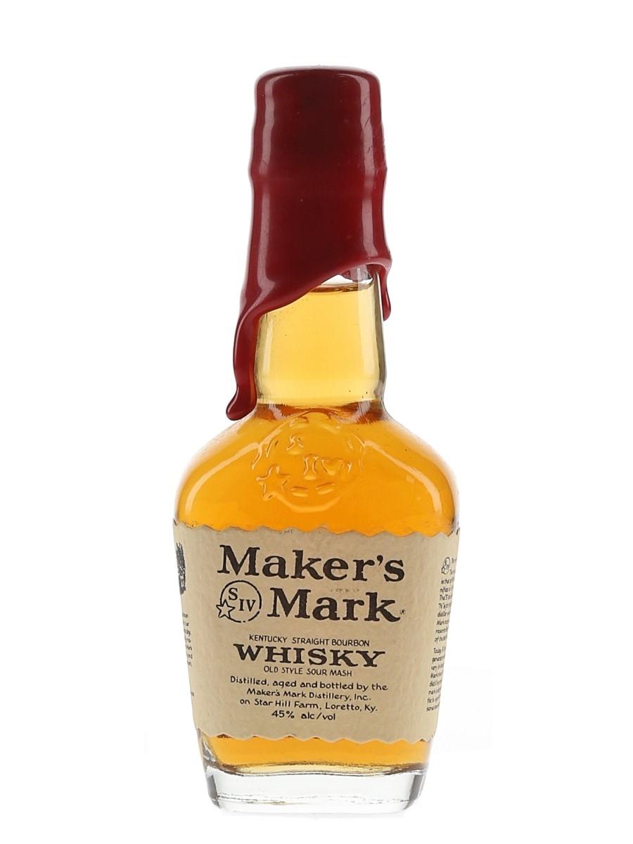 Maker's Mark Bottled 1980s 5cl / 45%