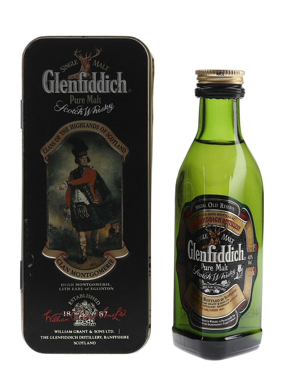 Glenfiddich Special Reserve Clans Of The Highlands - Clan Montgomerie 5cl / 40%