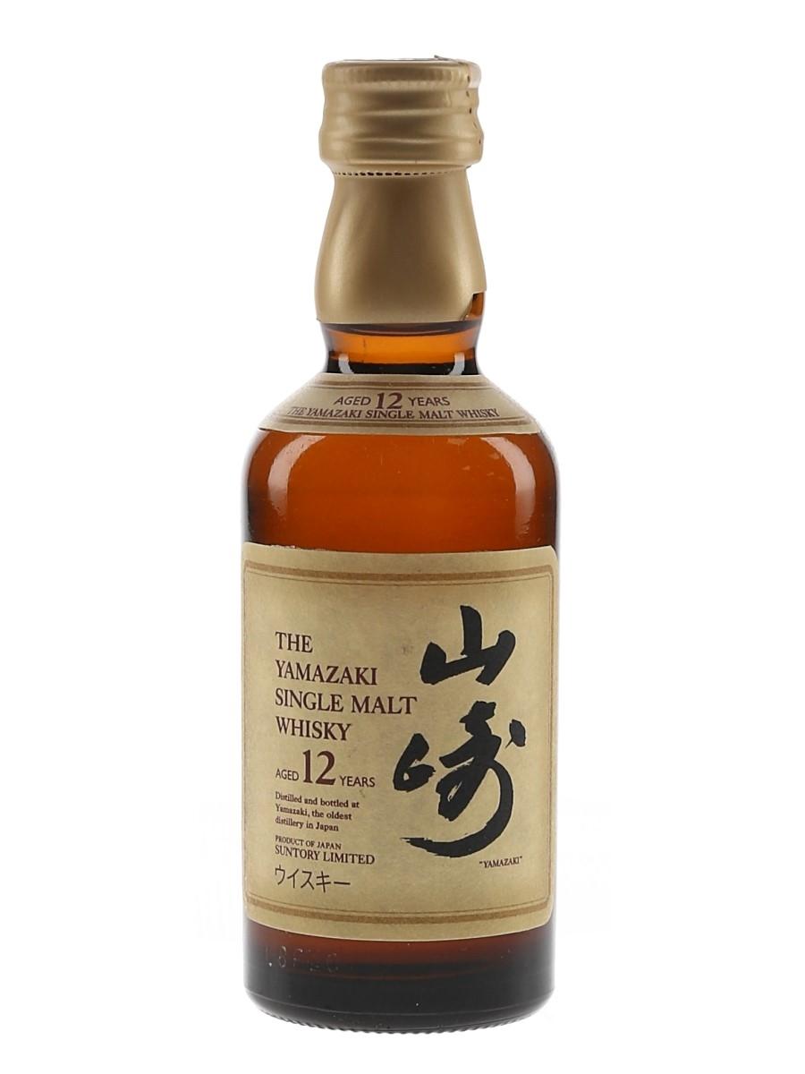 Yamazaki 12 Year Old  5cl / 43%