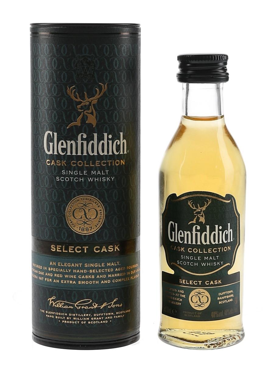 Glenfiddich Select Cask Cask Collection 5cl / 40%