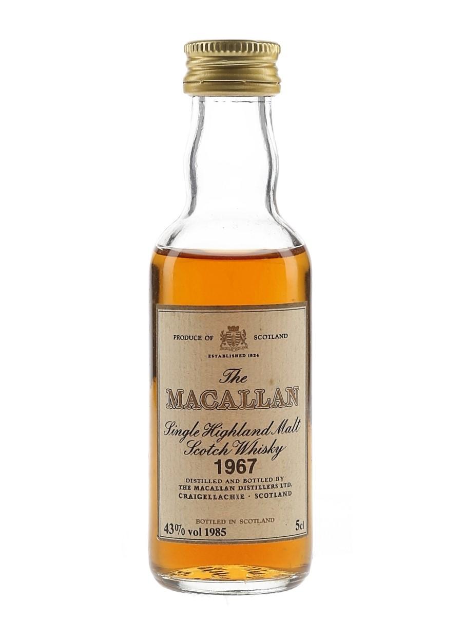 Macallan 1967 Bottled 1985 5cl / 43%
