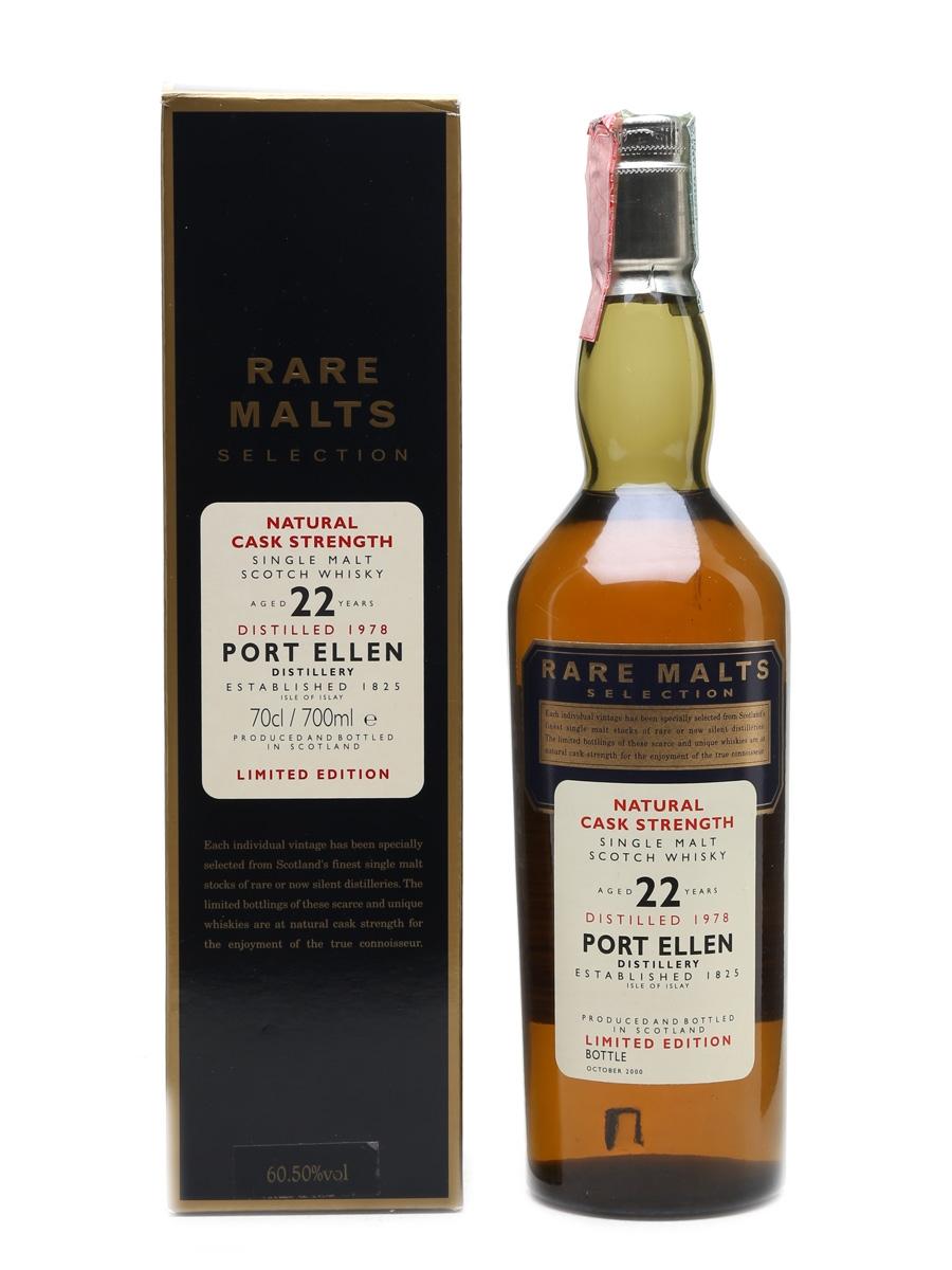 Port Ellen 1978 22 Year Old Bottled 2000 - Rare Malts Selection 70cl / 60.50%