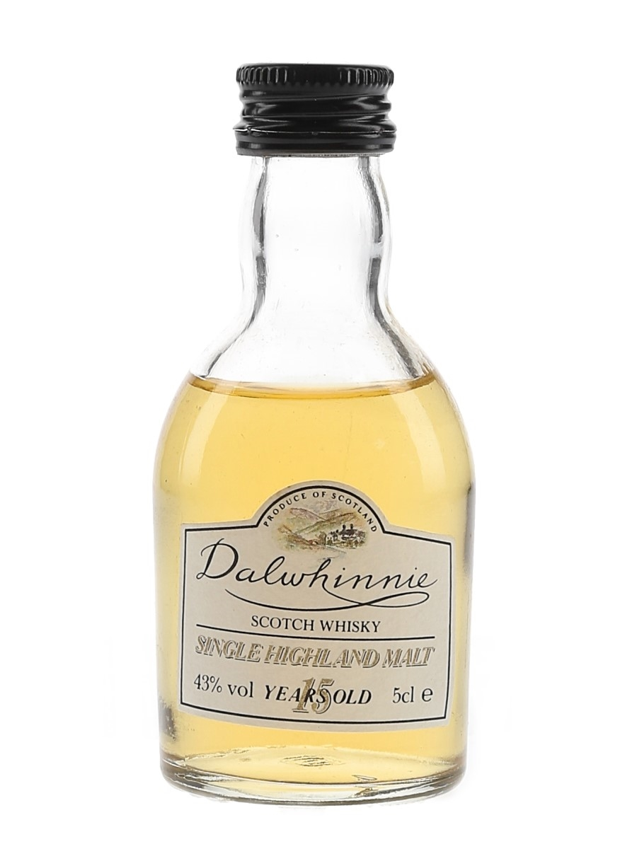 Dalwhinnie 15 Year Old Bottled 1990s 5cl / 43%