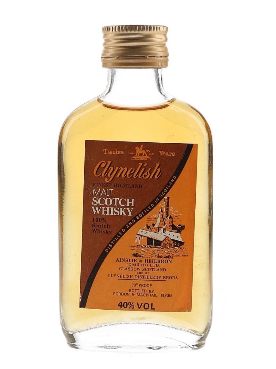Clynelish 12 Year Old Bottled 1980s - Gordon & MacPhail 5cl / 40%