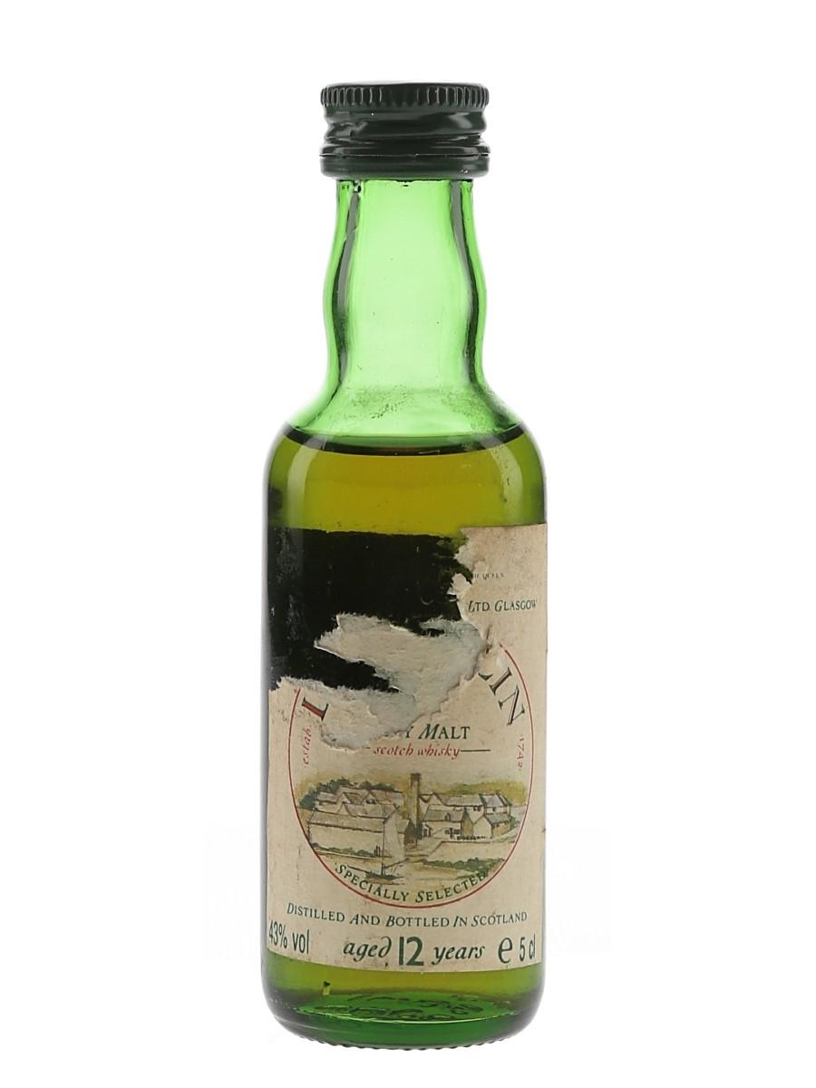 Lagavulin 12 Year Old Bottled 1980s - White Horse Distillers 5cl / 43%
