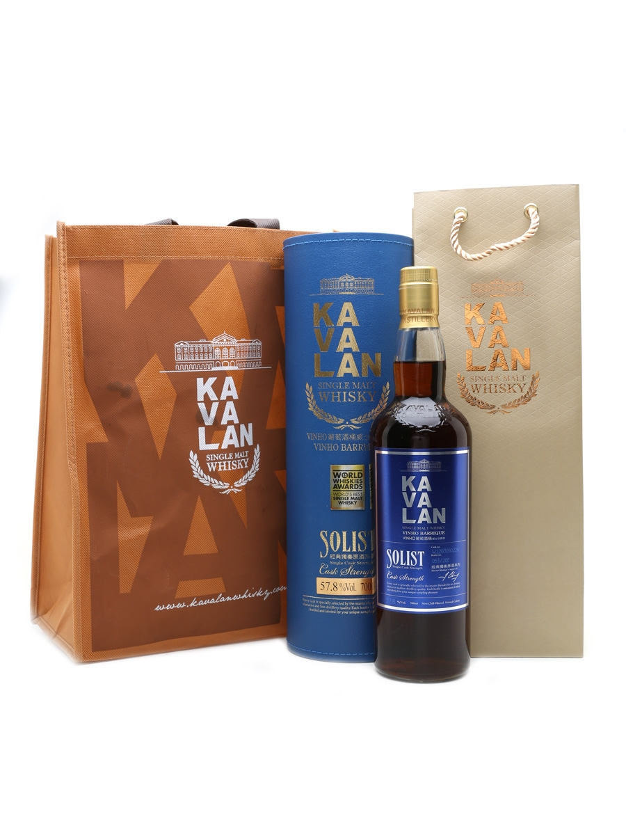 Kavalan Solist Vinho Barrique Distilled 2012 70cl / 57.8%