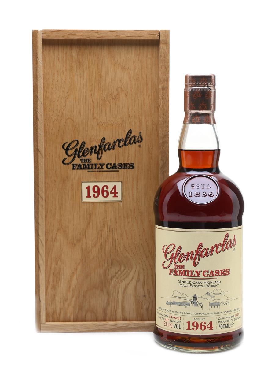 Glenfarclas 1964 The Family Casks Cask No. 4717 70cl / 53.1%