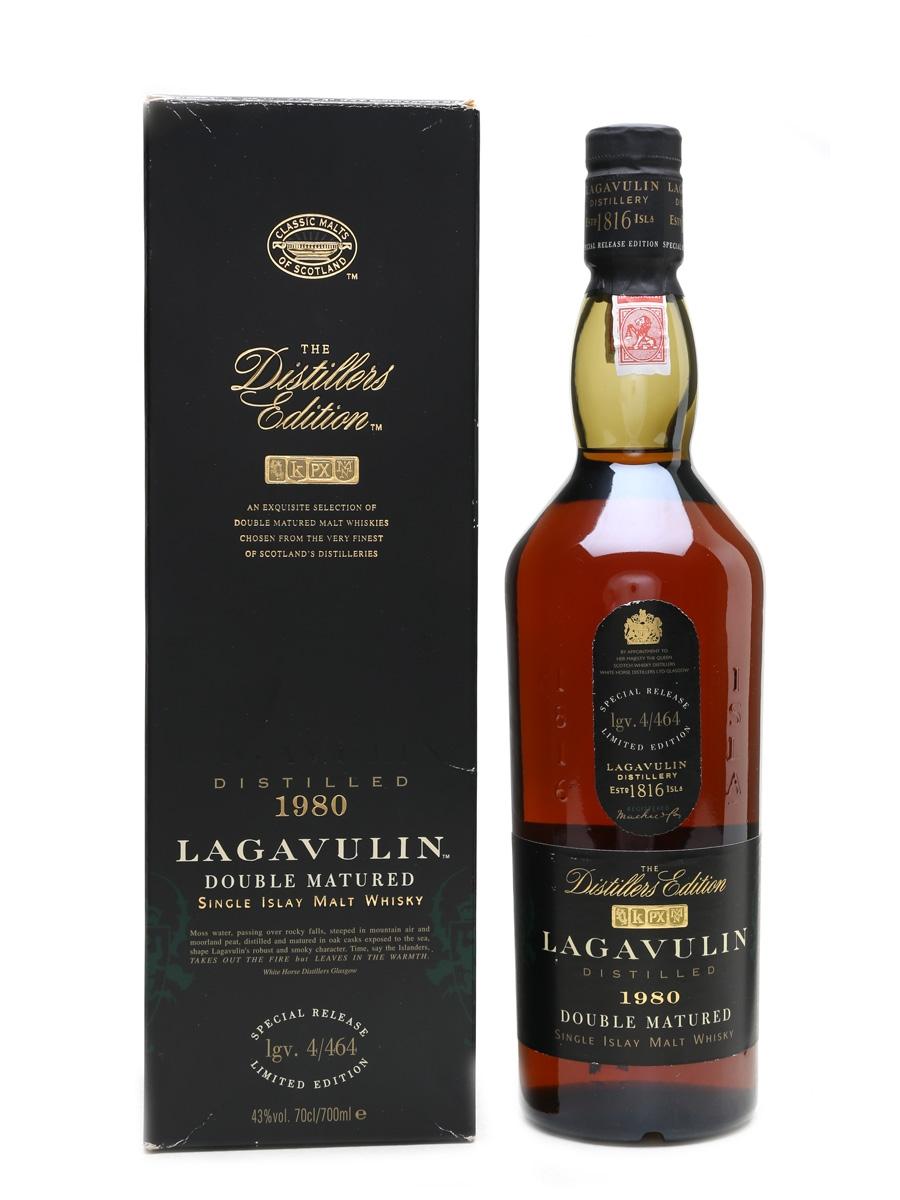 Lagavulin 1980 Distillers Edition White Horse Distillers 70cl / 43%