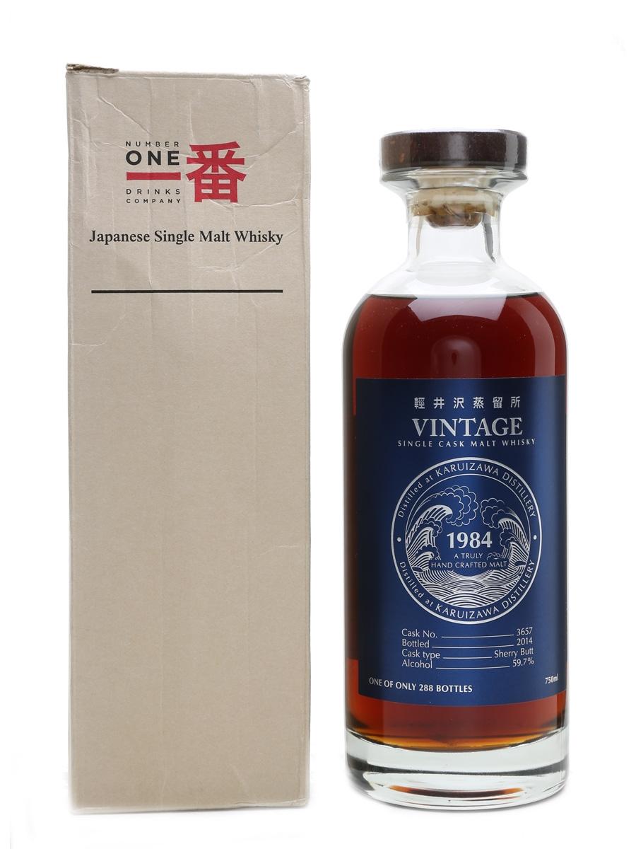 Karuizawa 1984 Cask #3657 Bottled 2014 75cl / 59.7%