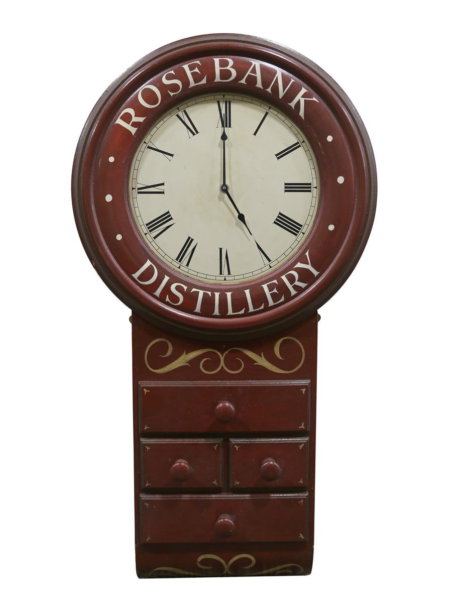 Rosebank Distillery Clock  4kg