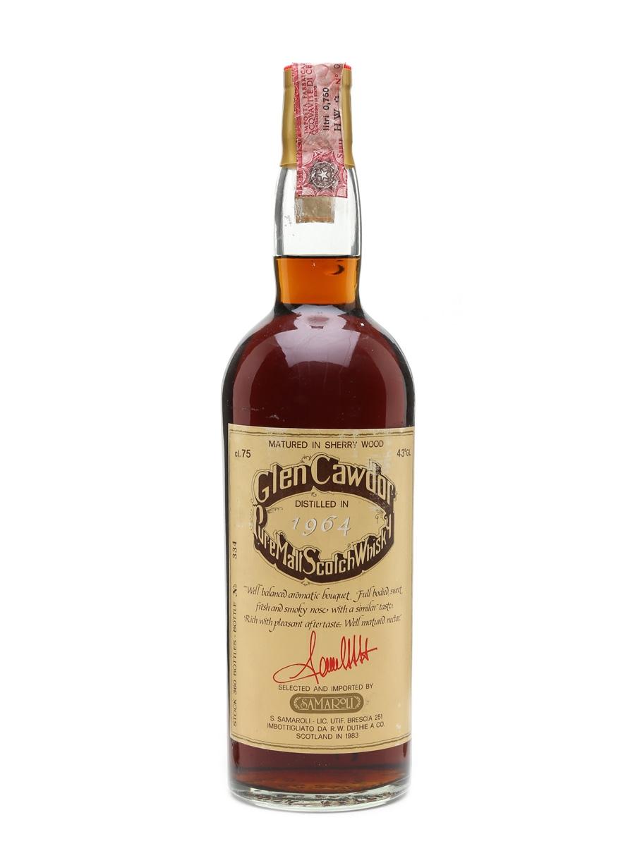 Glen Cawdor 1964 Samaroli Bottled 1983 - Springbank 75cl / 43%
