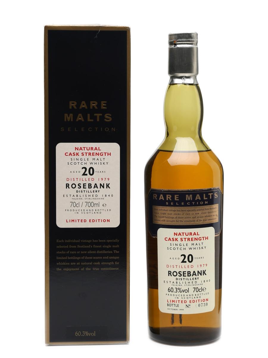 Rosebank 1979 20 Year Old Bottled 1999 - Rare Malts Selection 70cl / 60.3%