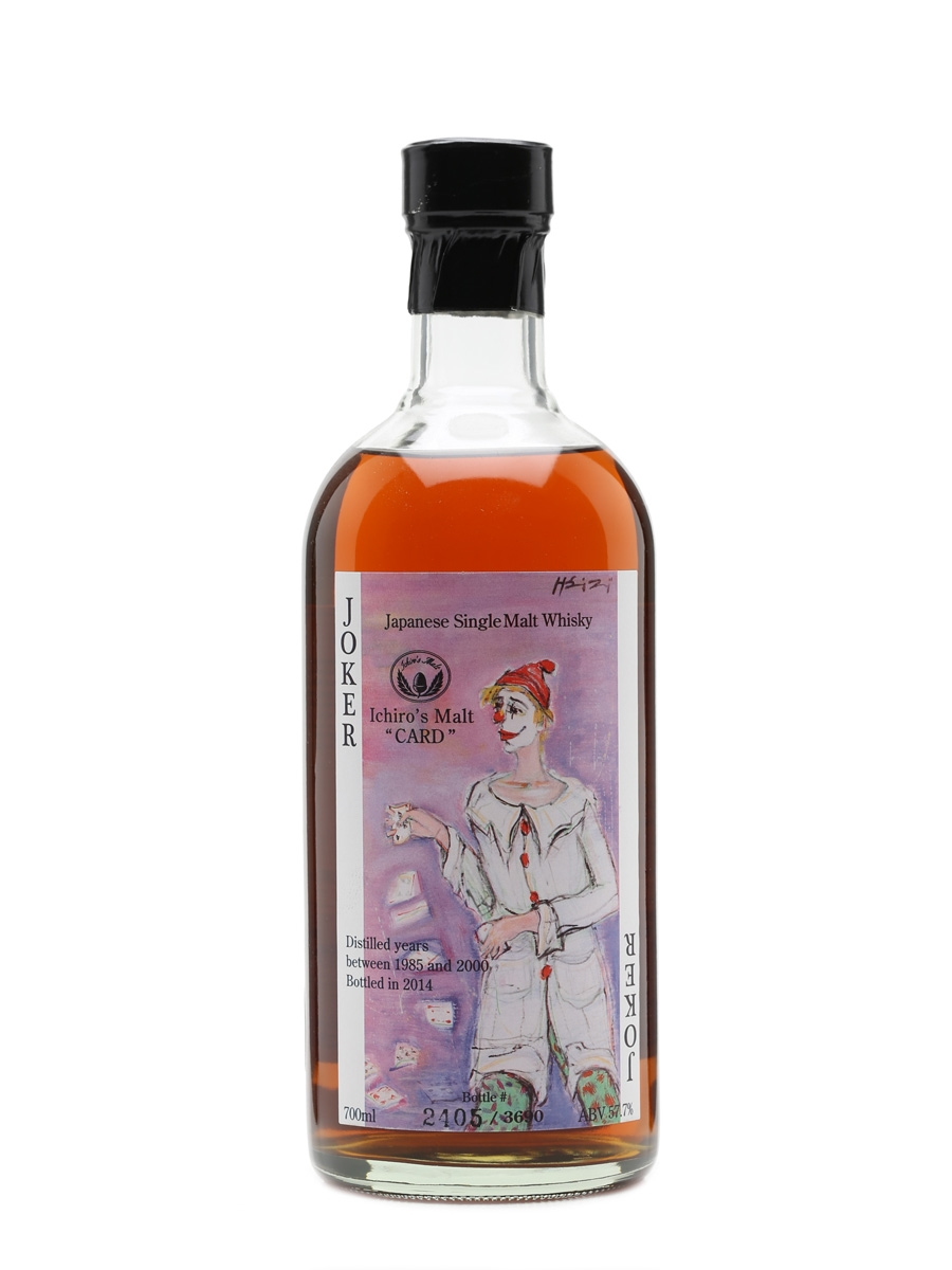 Hanyu Ichiro's Malt The Joker Card Series - Colour Label 70cl / 57.7%