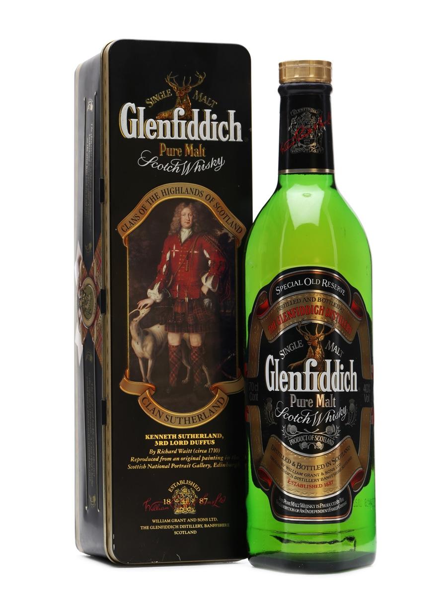 Glenfiddich Pure Malt in Tin Box 70cl
