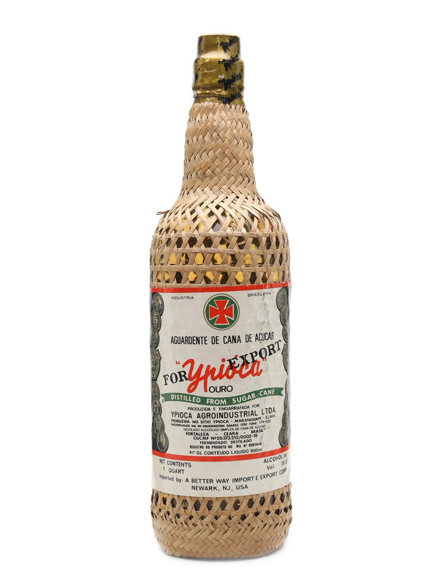 Ypioca Ouro Gold Cachaca For Export 90cl / 39.9%