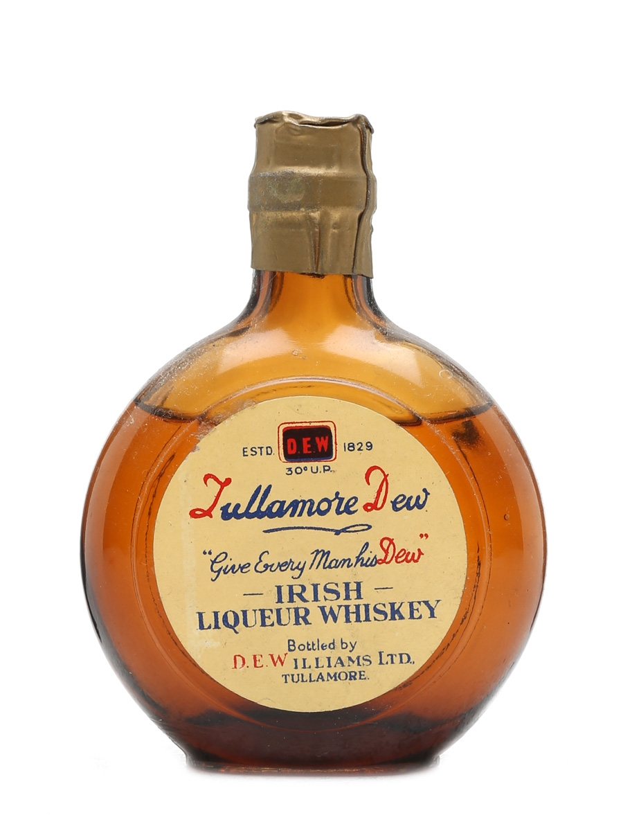 Tullamore Dew Miniature Bottled 1950s 5cl / 40%