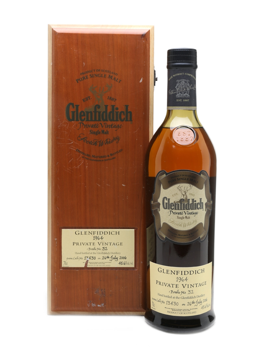 Glenfiddich 1964 Private Vintage Cask No. 13430 70cl / 45.6%