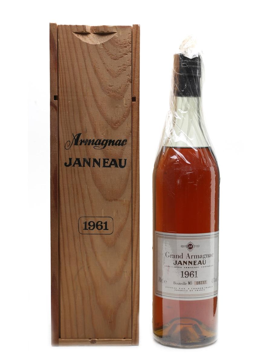 Janneau 1961 Grand Armagnac  70cl / 43%