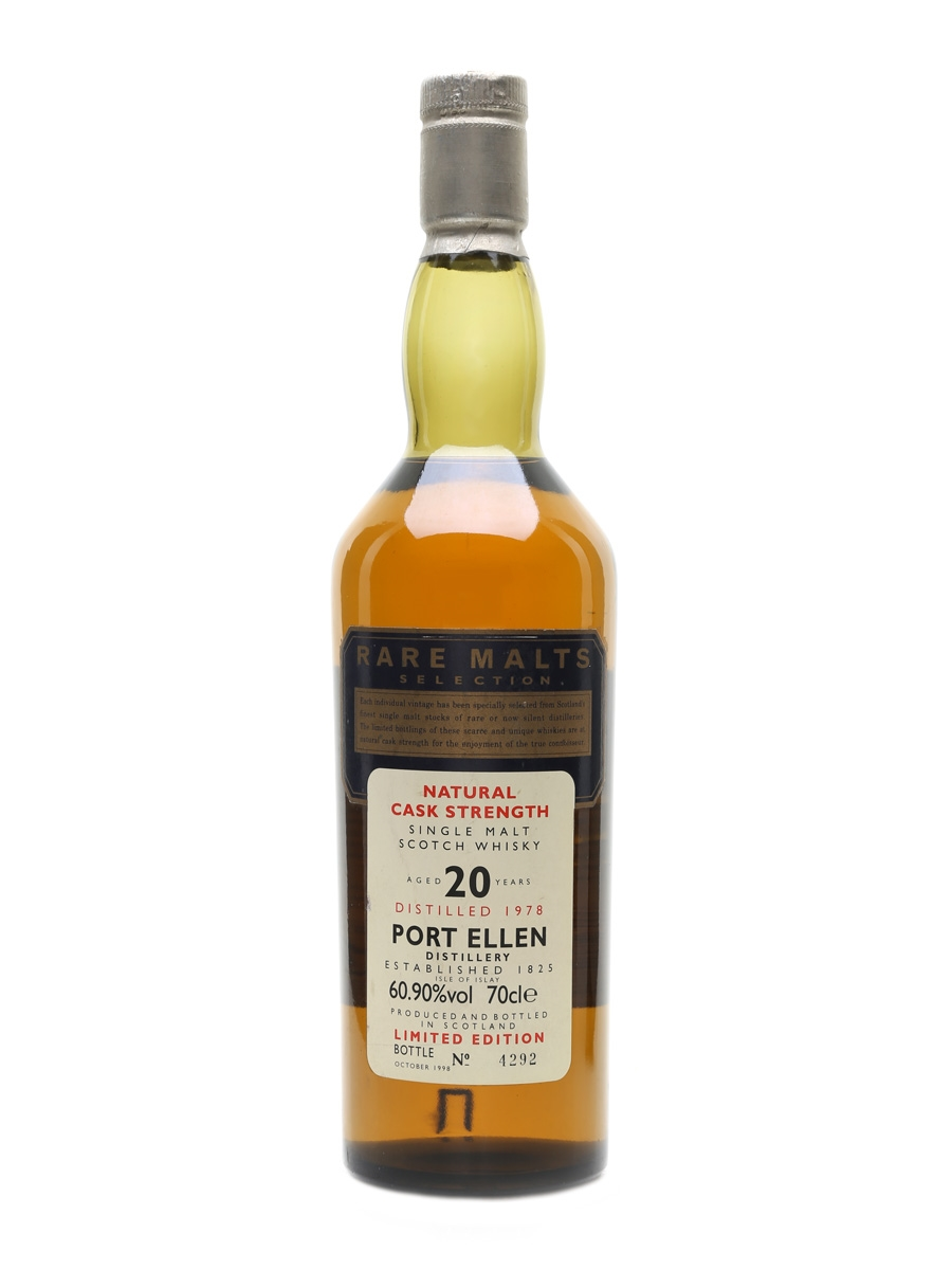 Port Ellen 1978 20 Year Old Bottled 1998 - Rare Malts Selection 70cl / 60.9%