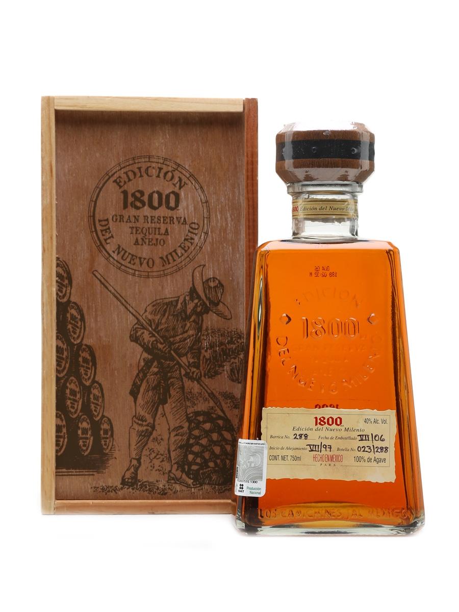 1800 Gran Reserva Anejo Tequila Edicion Del Nuevo Milenio 75cl / 40%