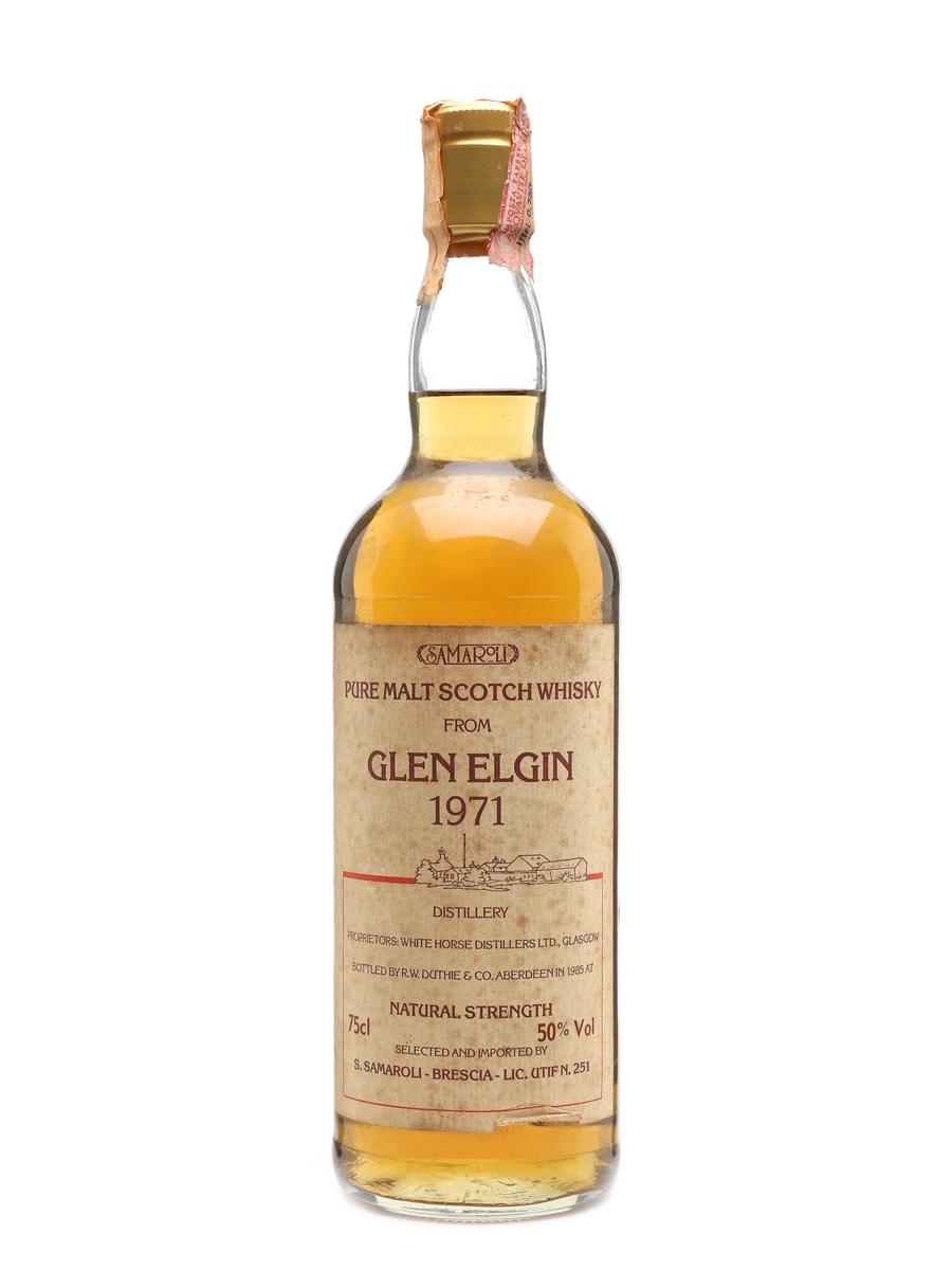 Glen Elgin 1971 Samaroli Bottled 1985 75cl / 50%