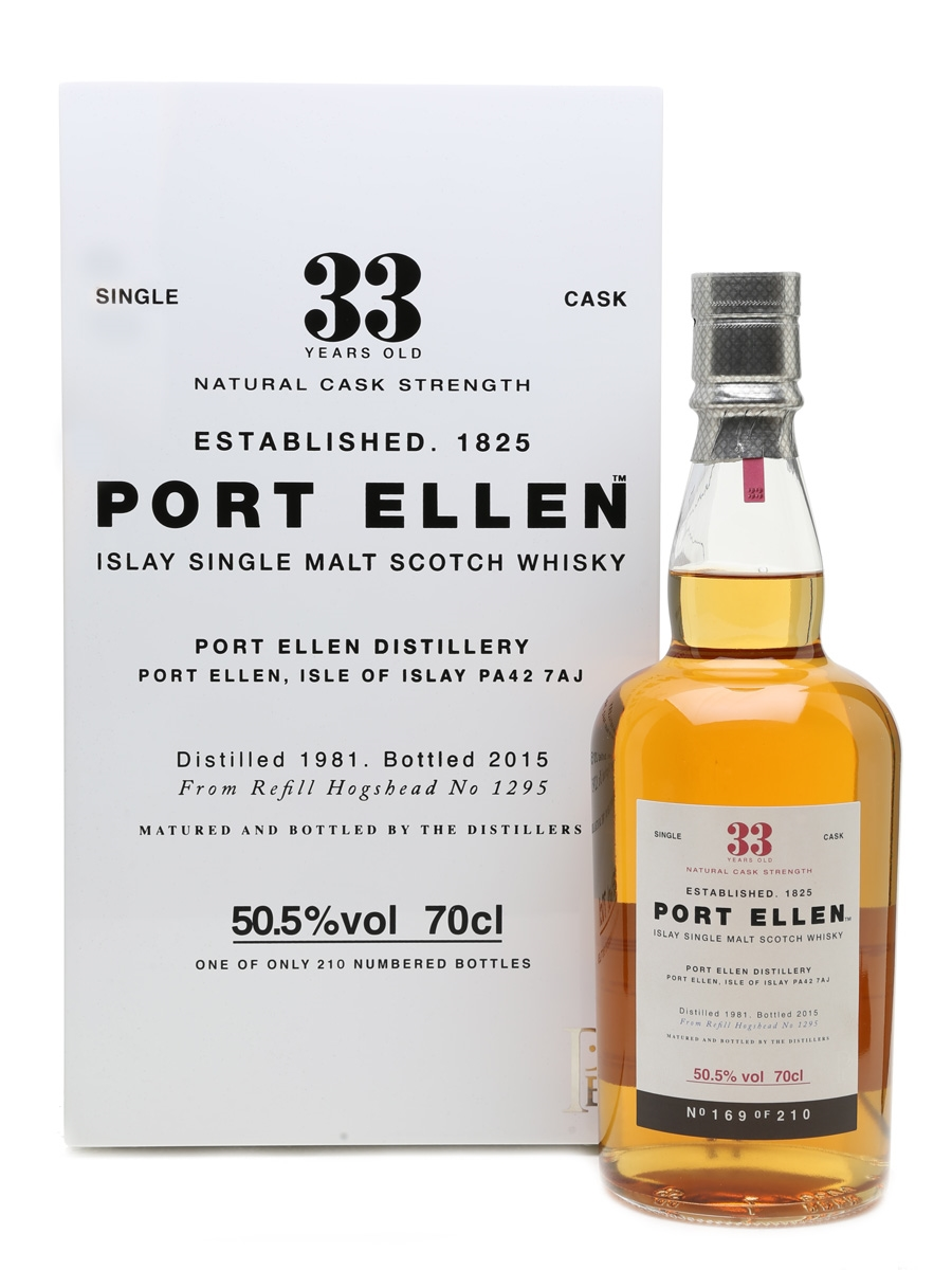 Port Ellen 1981 33 Year Old 70cl / 50.5%