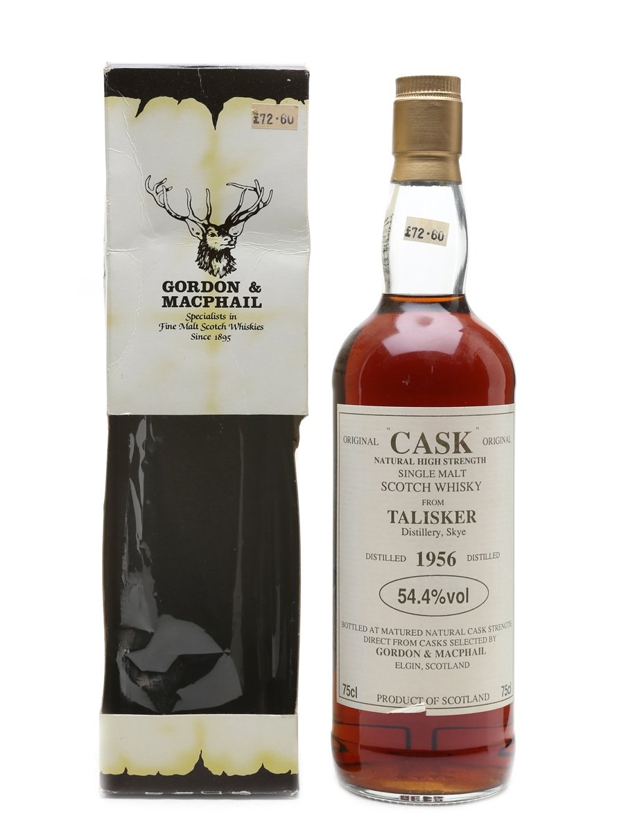 Talisker 1956 Gordon & MacPhail Bottled 1980s 75cl / 54.4%