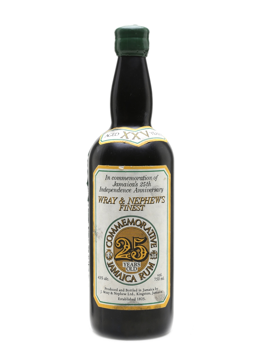 Wray & Nephew's Commemorative - 25 Years Old Bottled 1987 75cl / 43%