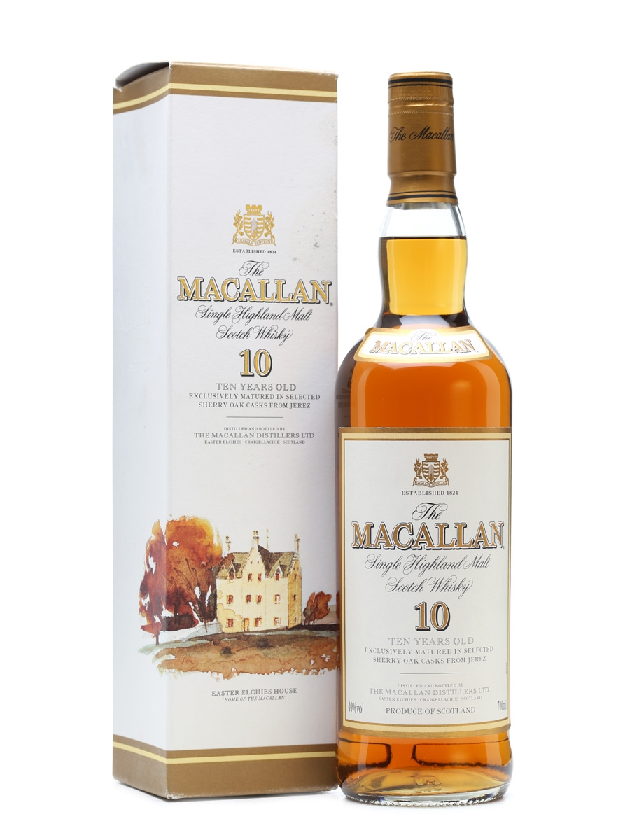 Macallan 10 Years Old Old Presentation 70cl