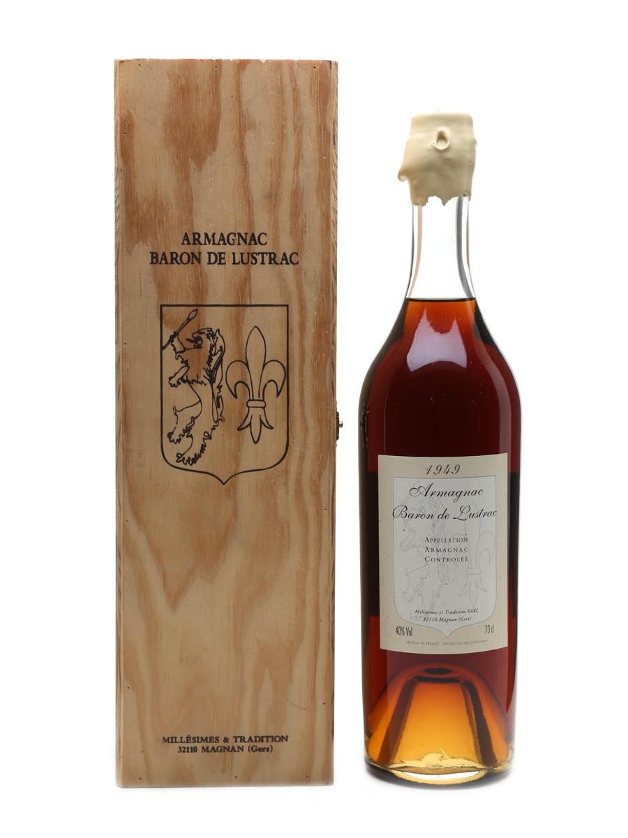 Baron De Lustrac 1949 Armagnac  70cl / 40%