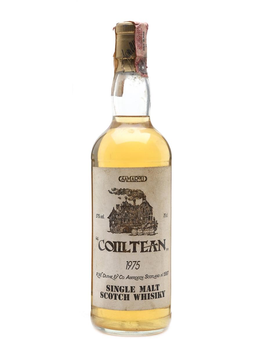 Coilltean 1975 Samaroli Bottled 1987 - Glen Garioch 75cl / 57%