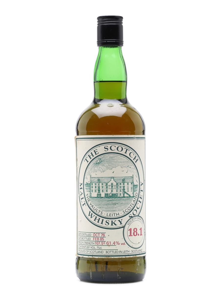 SMWS 18.1 Inchgower 1976 75cl