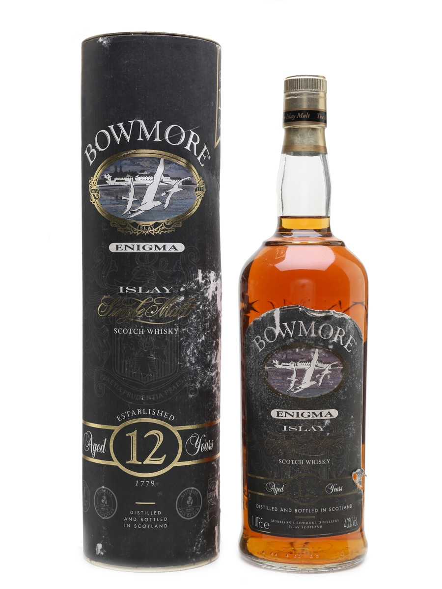 Bowmore 12 Year Old Enigma  100cl / 40%