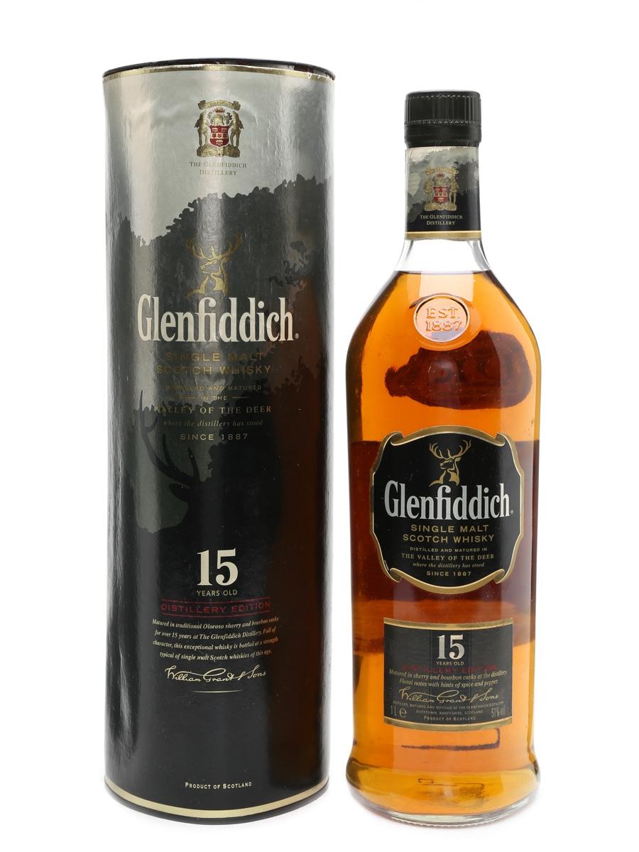 Glenfiddich 15 Year Old Distillery Edition 100cl / 51%
