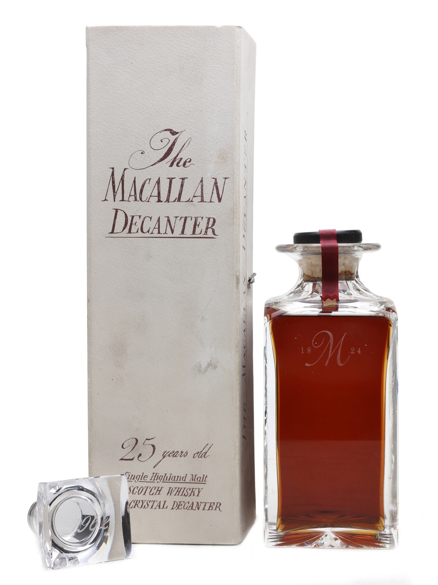 Macallan 1962 25 Year Old Crystal Decanter 75cl / 43%